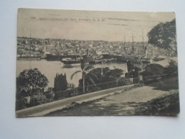 D168818  Sydney - WOOLLOOMOOLOO Bay - Sydney  NSW -Australia 1912  Bela Zelenka  -Postage Due NSW T10 - Sydney
