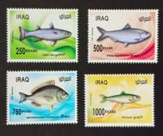 Iraq 2019 NEW MNH Complete Set 3v. Fish Of Arabian Gulf - Iraq