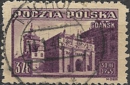 POLAND 1945 Liberation Of Gdansk (Danzig) - 3z. High Gate, Gdansk FU - Usados