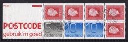 Nederland - Inhoud Postzegelboekje 22 C Inclusief Tekst - Gebruikt/gebraucht/used - NVPH 22c - Booklets
