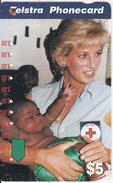 AUSTRALIA - Princess Diana, Australian Red Cross, Used - Personaggi