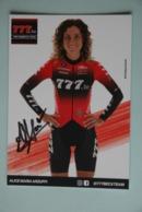 CYCLISME: CYCLISTE : ALICE MARIA ARZUFFI - Ciclismo