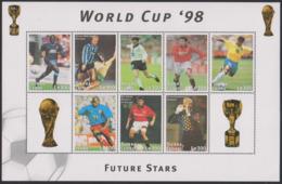 Soccer World Cup 1998 - SIERRA LEONE - Sheet MNH - 1998 – France