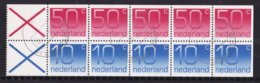 Nederland - Inhoud Postzegelboekje 28a - Gebruikt/gebraucht/used - NVPH 28a - Booklets