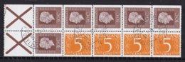 Nederland - Inhoud Postzegelboekje 17 - Gebruikt/gebraucht/used - NVPH 17 - Booklets