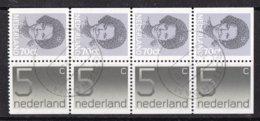 Nederland - Inhoud Postzegelboekje 27 - Gebruikt/gebraucht/used - NVPH 27 - Booklets
