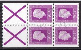 Nederland - Inhoud Postzegelboekje 18 - Gebruikt/gebraucht/used - NVPH 18 - Booklets