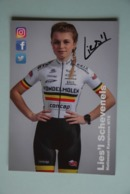 CYCLISME: CYCLISTE : LIES'L SCHEVENELS - Ciclismo