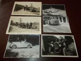 B742   6 Foto Auto/bus Cm11x7,10x7,12x7,5 - Foto