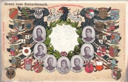 Gruss Vom Kaiserbesuch , Deutsches Hohenzollern-Haus , Germany , 00-10s - Royal Families