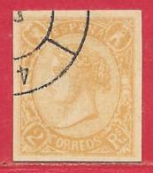 Espagne N°70 2R Orange 1865 (signé SENF LEIPZIG) O - Usati