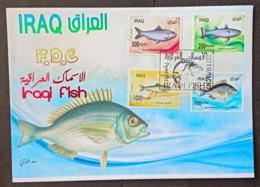 Iraq 2019 NEW Fish Of The Arabian Gulf FDC - Iraq