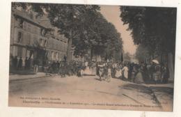 Charleville Manifestation Du 11 Septembre 1911 Contre La Cherté Des Vivres Les Manifestants Cours D Orleans - Charleville