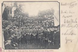 KIEL , Royal Family Members On Warship , Germany , 1901 - Kiel