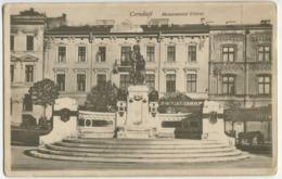 Cernăuți (now Ukraine) - The Union Monument - Romania