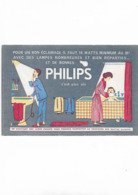 Buvard Ancien  Philips C'est Plus Sûr  Lampe  Salle De Bain - Elektrizität & Gas