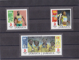 Olympics 2008 - Athletics - JAMAICA - Set MNH - Ete 2008: Pékin
