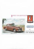 Buvard Ancien Frégate Renault Primior N° 3 - Automobile