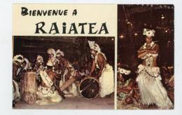 CPSM - POLYNESIE FRANÇAISE - RAIATEA - GROUPE DE DANSEURS - - Frans-Polynesië