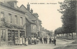 FONTAINE LE BOURG - Rue Principale. - France