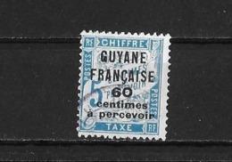 Guyane Yv. Taxe 9  O. - Guyane Française (1886-1949)