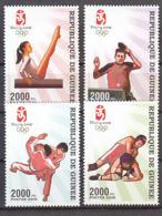 Olympics 2008 - Judo - GUINEA - Set MNH - Ete 2008: Pékin