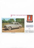 Buvard Ancien 403 Peugeot Primior N° 5 - Automobile