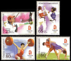 Olympics 2008 - Weightlifting - TURK.-CYPRUS - Set MNH - Ete 2008: Pékin
