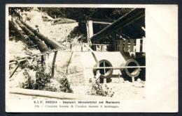 CV2953 COVALOU Valle Del MARMORE (Aosta AO) Breda, Impianti Idroelettrici, FP, Viaggiata 1927 Per Oropa, Ottime Condizio - Italia