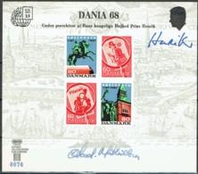 Denmark 1968. DANIA 68. Souvenir Card. - Danimarca