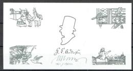 Martin Mörck. Denmark 2012. H.C.Andersen Fairy Tales. Michel 1 701A-04A Blackprint. Signed. Limited Edition!! - Probe- Und Nachdrucke