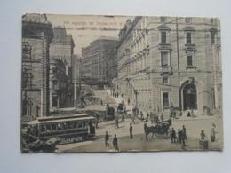 D168821  Sydney - Hunter Street -tram  - Sydney  NSW -Australia 1912  Bela Zelenka  -Postage Due NSW T10 - Sydney