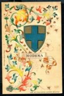 CV2919 MODENA (MO) Stemma Cittadino Con Splendida Decorazione, FP, Non Viaggiata, Ottime Condizioni - Modena