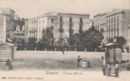 Cartolina - Trapani - Piazza Marina - Trapani