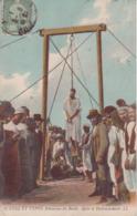 AFRIQUE TUNUSIE SCENES TYPES UNE PENDAISON DU BARDO DECLANCHEMENT 1911 CPA BON ÉTAT - Tunisia