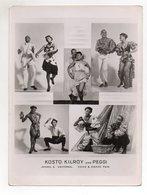 C2183/ Kosto Kilroy And Peggi Variete Song & Dance Tanzen Ca.1955 24 X 18 Cm - Autres Collections