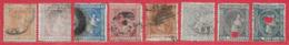 Espagne N°153 à 155 & N°157 à 161 8 Tp 1875 O - 1875-1882 Regno: Alfonso XII