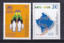 Kosovo 2004 UNHCR Return Of Refugees NATO KFOR 5 Years In Peace MNH - Kosovo