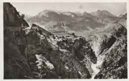 Carte Postale Des Années 30 Des Hautes-Alpes - Gorges Du Queyras - La Sortie Des Gorges Près Guillestre - France