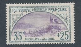 """DE-9: FRANCE: Lot Avec """"ORPHELINS"""" N°152*GNO? - Nuevos"""