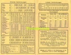 SCHWEIZ SUISSE ELEKTRISCHE STANSSTAD ENGELBERT SOMMER FAHRPLAN 1933 LUFTSEILBAHN GERSCHNIALP TRUBSEE - Europe