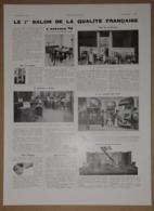 1934 Le 1er Salon De La Qualité Française (Huiles Antar, A La Ville Du Puy, J.M. Paillard...) - Cusenier - Publicité - Publicités