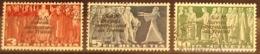"""Schweiz Suisse 1939: Dienst IV """"S.d.N. Bureau International Du Travail"""" BIT Zu+Mi 57-59 Mit Eck-o (Zu CHF 70.00) - Service"""