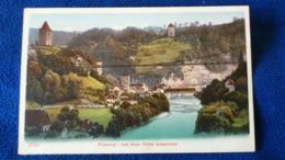 Fribourg Les Deux Ponts Suspendus Switzerland - FR Fribourg