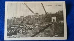 Fribourg Pont Suspendu Switzerland - FR Fribourg