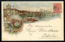 CV2955 SALO' (Brescia BS) Gruss Aus, FP, Viaggiata 1901 Per Odolo, Ottime Condizioni - Brescia