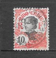 1907 : Centre Et Valeur En Noir : N°45 Chez YT. (Voir Commentaires) - Indochine (1889-1945)