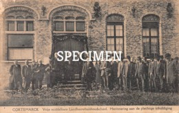 Vrije Middelbare Landbouwschool - Herinnering Aan De Plechtige Inhuldiging -  Cortemarck - Kortemark - Kortemark