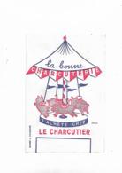Buvard Ancien La Bonne Charcuterie S'achète Chez Le Charcutier - Alimentare