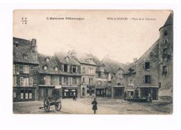 12 - MUR DE BARREZ. Place De La Fontaine. - Autres Communes